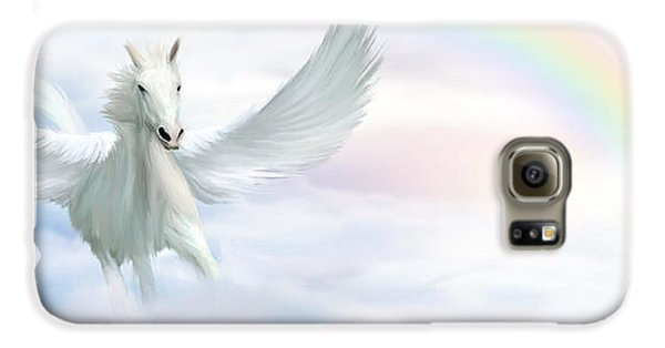 Pegasus Galaxy S6 Case by John Edwards