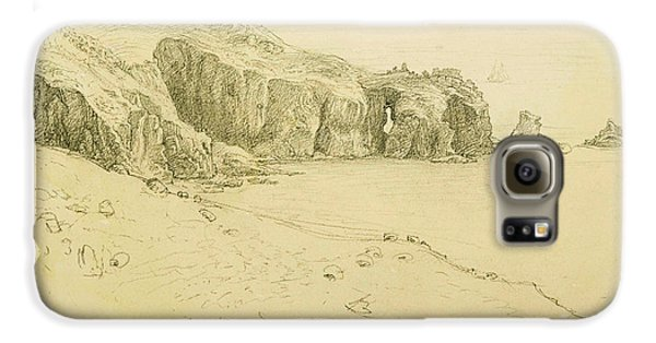Pele Point, Land's End Galaxy S6 Case by Samuel Palmer