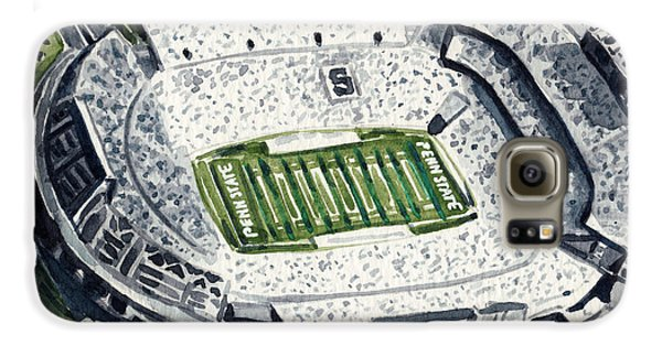 Penn State Beaver Stadium Whiteout Game University Psu Nittany Lions Joe Paterno Galaxy S6 Case by Laura Row