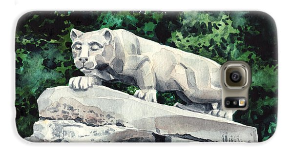 Penn State Nittany Lion Shrine University Happy Valley Joe Paterno Galaxy S6 Case by Laura Row