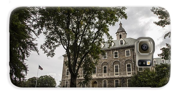 Penn State Old Main And Tree Galaxy S6 Case by John McGraw