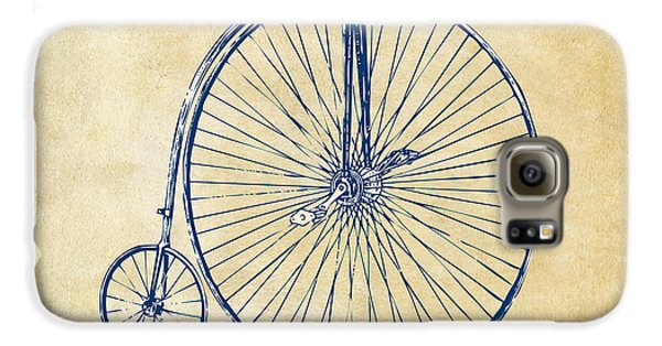 Penny-farthing 1867 High Wheeler Bicycle Vintage Galaxy S6 Case by Nikki Marie Smith