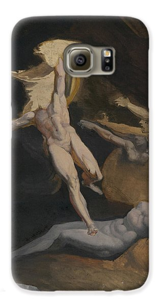 Perseus Slaying The Medusa Galaxy S6 Case by Henry Fuseli