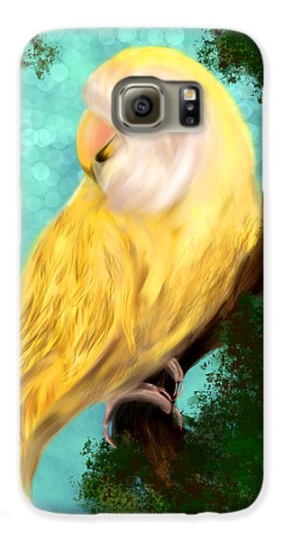 Petrie The Lovebird Galaxy S6 Case