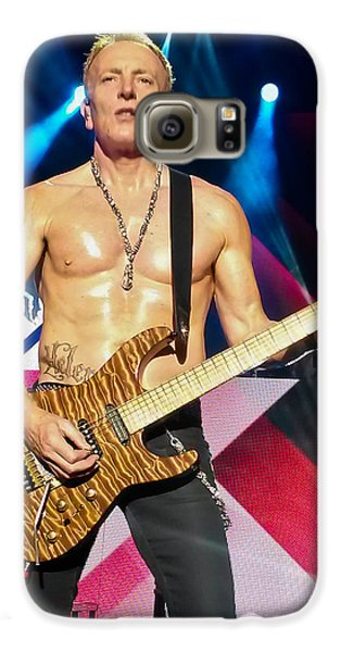 Phil Collen Of Def Leppard 5 Galaxy S6 Case by David Patterson