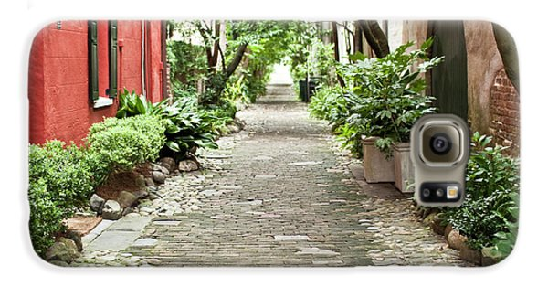 Philadelphia Alley Charleston Pathway Galaxy S6 Case by Dustin K Ryan