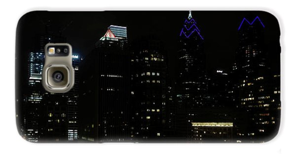 Philadelphia Night Lights Galaxy S6 Case