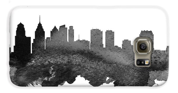 Philadelphia Pennsylvania Skyline 18 Galaxy S6 Case by Aged Pixel