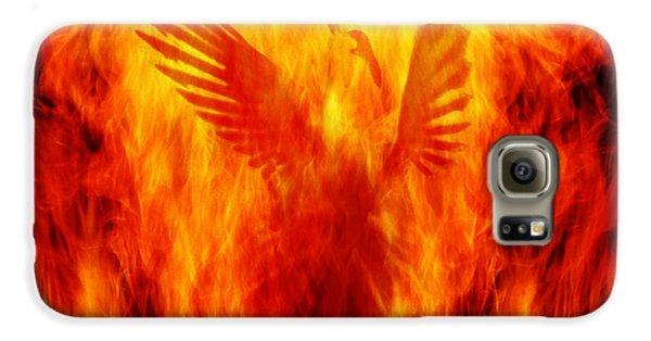 Phoenix Rising Galaxy S6 Case by Andrew Paranavitana