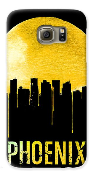 Phoenix Skyline Yellow Galaxy S6 Case by Naxart Studio