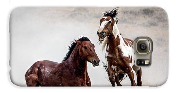 Picasso - Wild Stallion Battle Galaxy S6 Case