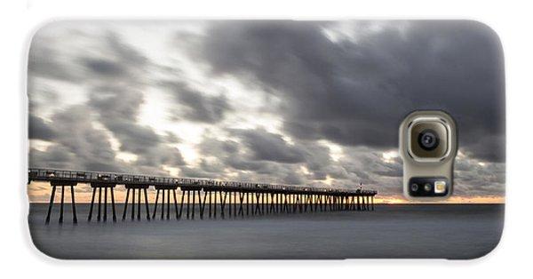 Pier In Misty Waters Galaxy S6 Case