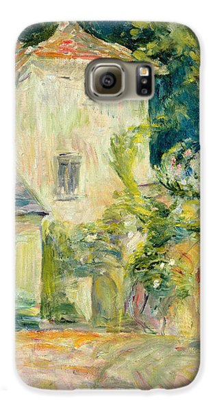 Pigeon Galaxy S6 Case - Pigeon Loft At The Chateau Du Mesnil by Berthe Morisot