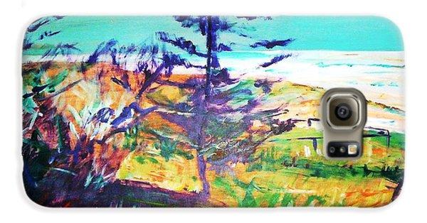 Pine Tree Pandanus Galaxy S6 Case by Winsome Gunning