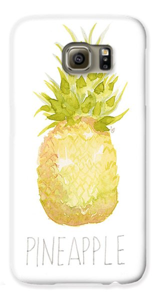 Pineapple Galaxy S6 Case by Cindy Garber Iverson