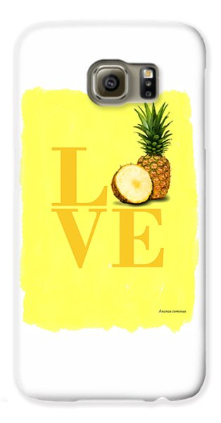 Pineapple Galaxy S6 Case by Mark Rogan