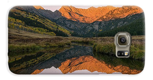 Galaxy S6 Case featuring the photograph Piney River Panorama by Aaron Spong