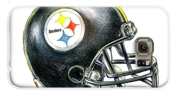 Pittsburgh Steelers Helmet Galaxy S6 Case