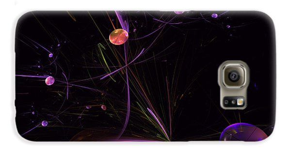 Planets And Space Energies Galaxy S6 Case