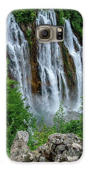 Plitvice Lakes Waterfall - A Balkan Wonder In Croatia Galaxy S6 Case