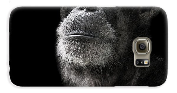 Ape Galaxy S6 Case - Ponder by Paul Neville