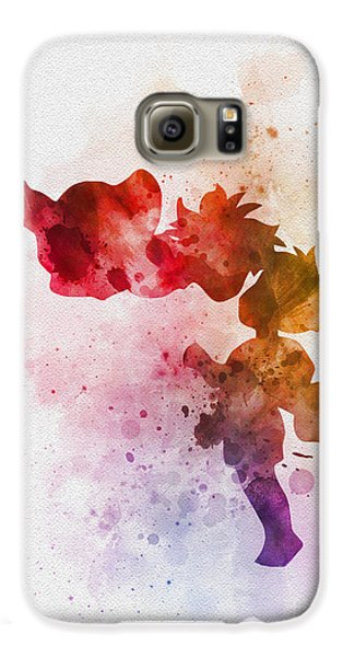 Ponyo Galaxy S6 Case by Rebecca Jenkins