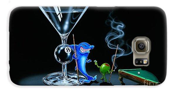 Pool Shark Galaxy S6 Case by Michael Godard