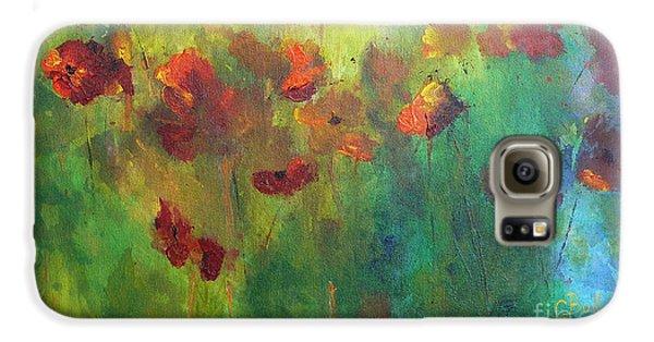 Poppies Galaxy S6 Case