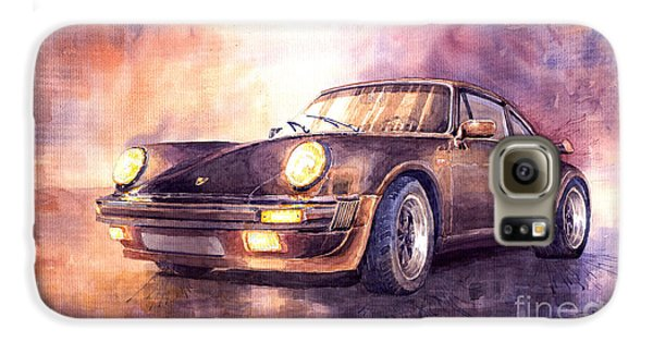Porsche 911 Turbo 1979 Galaxy S6 Case by Yuriy  Shevchuk