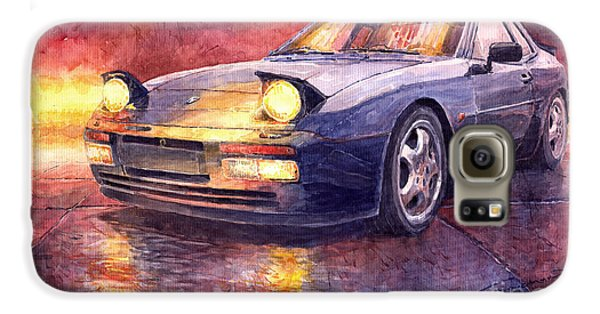 Porsche 944 Turbo Galaxy S6 Case by Yuriy  Shevchuk