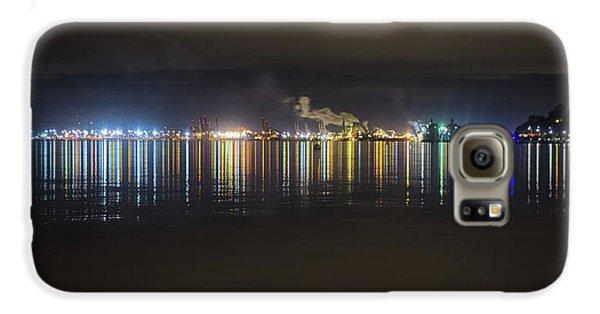 Port Of Tacoma Lights Galaxy S6 Case