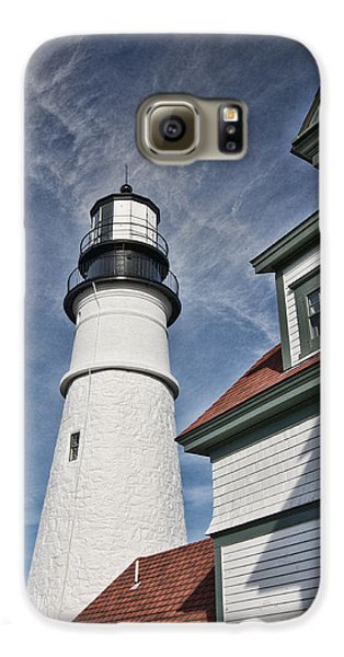 Portland Headlight Partial Galaxy S6 Case by Kim Wilson