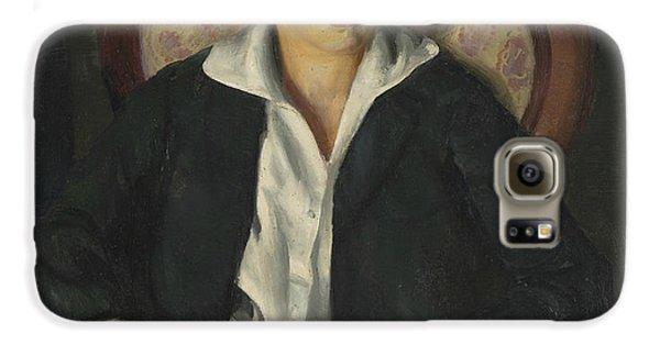 Boy George Galaxy S6 Case - Portrait Of A Boy  by George Bellows