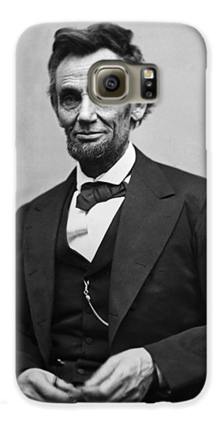 Portrait Of President Abraham Lincoln Galaxy S6 Case