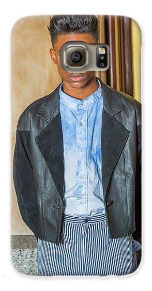 Portrait Of School Boy 15042624 Galaxy S6 Case
