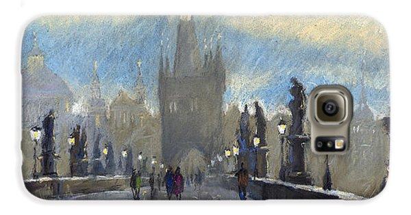 Prague Charles Bridge 06 Galaxy S6 Case