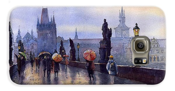 Prague Charles Bridge Galaxy S6 Case by Yuriy  Shevchuk