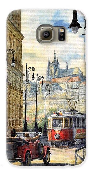 City Scenes Galaxy S6 Case - Prague Kaprova Street by Yuriy Shevchuk