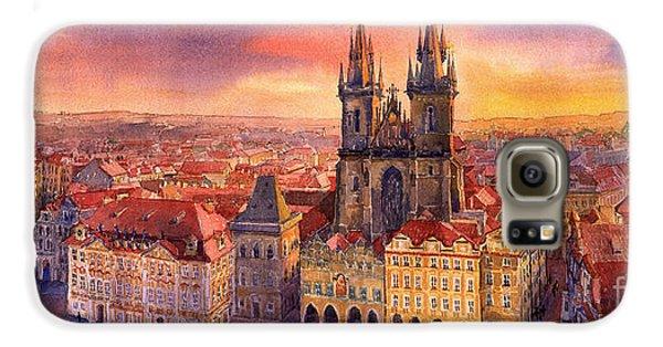 Town Galaxy S6 Case - Prague Old Town Square 02 by Yuriy Shevchuk