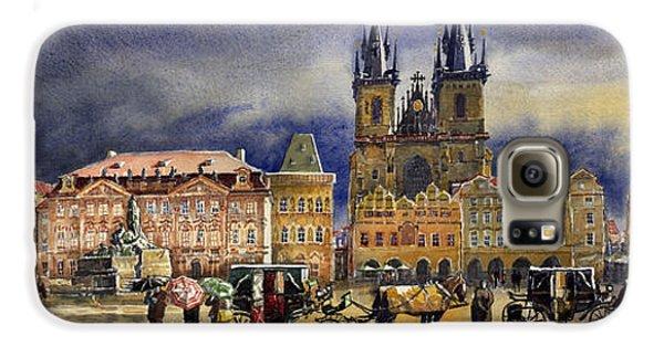 Town Galaxy S6 Case - Prague Old Town Squere After Rain by Yuriy Shevchuk