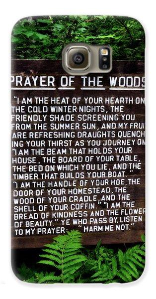 Prayer Of The Woods Galaxy S6 Case