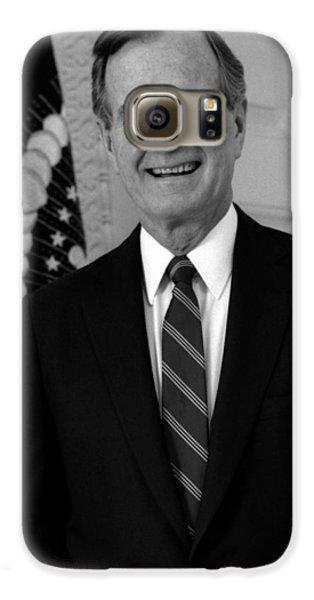 President George Bush Sr Galaxy S6 Case