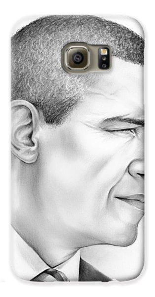 President Obama Galaxy S6 Case by Greg Joens