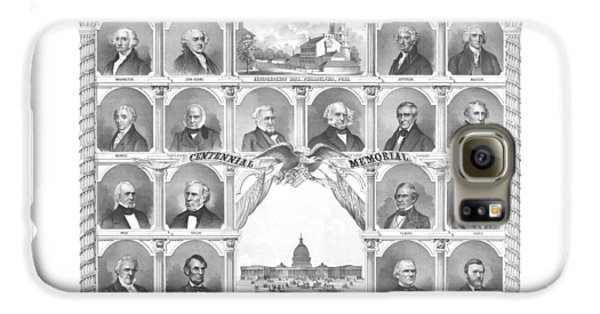 Presidents Of The United States 1776-1876 Galaxy S6 Case by War Is Hell Store