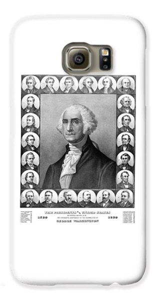 Thomas Jefferson Galaxy S6 Case - Presidents Of The United States 1789-1889 by War Is Hell Store