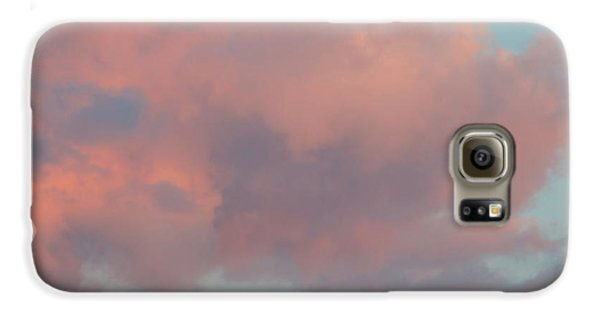 Galaxy S6 Case featuring the photograph Pretty Pink Clouds by Ana V Ramirez