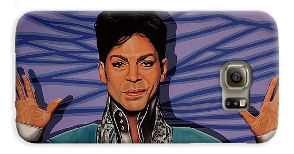 Rhythm And Blues Galaxy S6 Case - Prince 2 by Paul Meijering