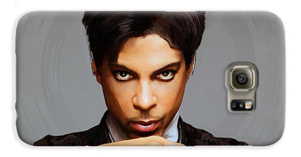 Blues Legend Galaxy S6 Case - Prince by Paul Tagliamonte