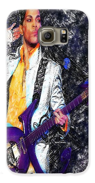 Prince - Tribute With Guitar Galaxy S6 Case