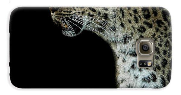 Leopard Galaxy S6 Case - Prowl by Paul Neville